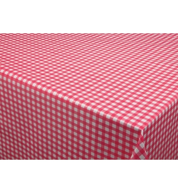 Oilcloth-table-cloth-Red-Check-150-170